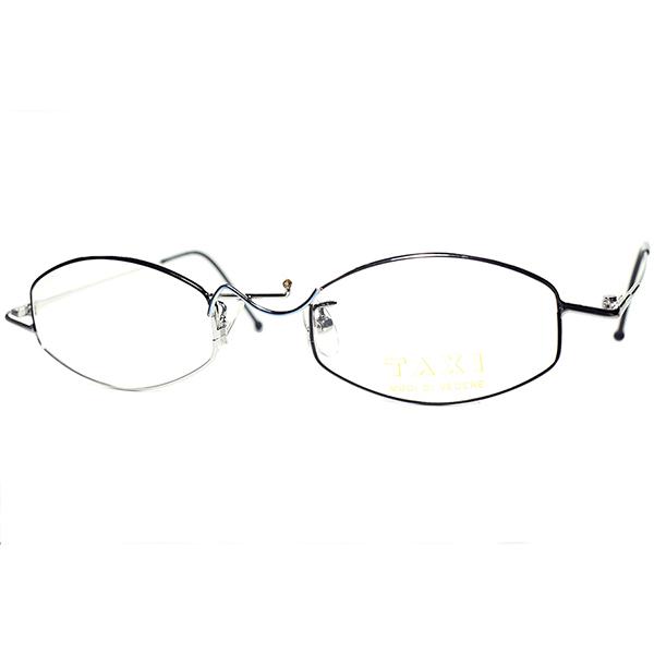 実用的エンターテイメントピース1980s-90s Italy製デッドストックTAXI by Casanova カサノヴァ ABSTRACT六角形 HEXAGON ビンテージヴィンテージ 眼鏡メガネ a6219