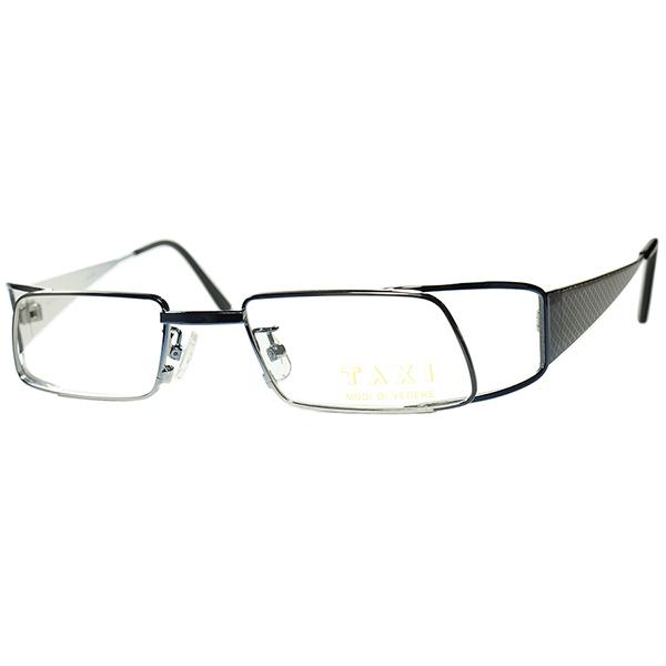実用的SPEC 鋭角FUTUREデザイン 1980s-90s Italy製デッドTAXI by Casanova カサノヴァ ABSTRACT 立体構造PARALLELOGRAM 平行四辺形型 ビンテージヴィンテージ 眼鏡メガネ a6463