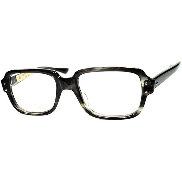 USミリタリーセルフレーム酷似モデル 1960s USA製 デッドストック AMERICAN OPTICAL アメリカンオプティカル AO スクエアウェリントン ビンテージヴィンテージ 眼鏡メガネ a7476