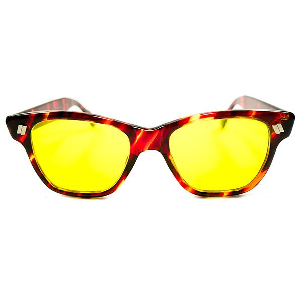 スペシャル 希少モデル デッドストック 1960s USA製 MADE IN USA アメリカンオプティカル AO AMERICAN OPTICAL カリクロームレンズ HAZE MASTER サングラス ヴィンテージ メガネ 眼鏡 A2510