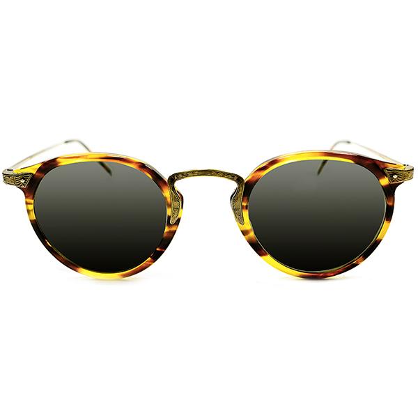 コレクターズ デッドストック 1992年初期オリジナル 日本製 オリバーピープルズ OLIVER PEOPLES OP-27 クラシックSIZE&カラー ビンテージヴィンテージ 眼鏡メガネ サングラス A2561