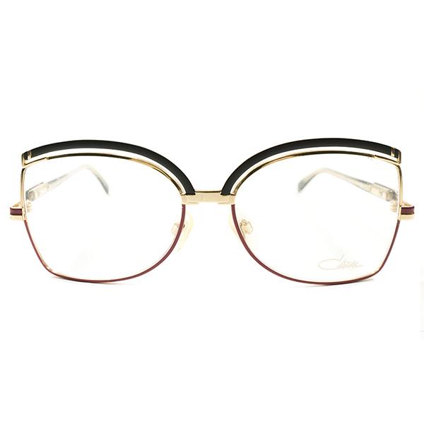 BUTTERFLY型重層リム 1990s ドイツ製 MADE IN GERMANY オールド カザール CAZAL MOD240 赤×黒 メタルフレーム ビンテージヴィンテージ 眼鏡メガネ サングラス A2567