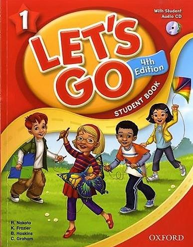 世界的人気を誇る児童英語のベストセラー教材 送料無料 2020秋冬新作 Let's Go 1 Student Book With Audio CD 4th Edition 旧版 セール 子ども英語教材 Pack