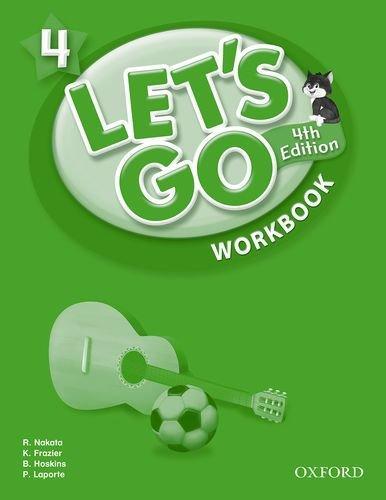 40%OFFの激安セール 高級品 世界的人気を誇る 児童英語のベストセラー教材 送料無料 Let's Go 4 子ども英語教材 旧版 4th Workbook Edition