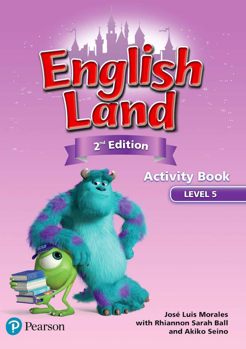 子どもたちが大好きなディズニー ピクサーキャラクターと一緒に英語学習 送料無料 最新版 English Land Edition 5 Book Activity 2nd 新作からSALEアイテム等お得な商品 満載 激安セール 小学生向け英語コース
