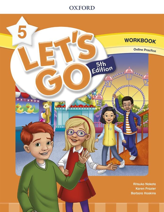世界的人気を誇る児童英語ベストセラー教材の最新版 送料無料 Let's Go 5th Edition Level マーケット Practice 5 開催中 ワークブック with Workbook Online