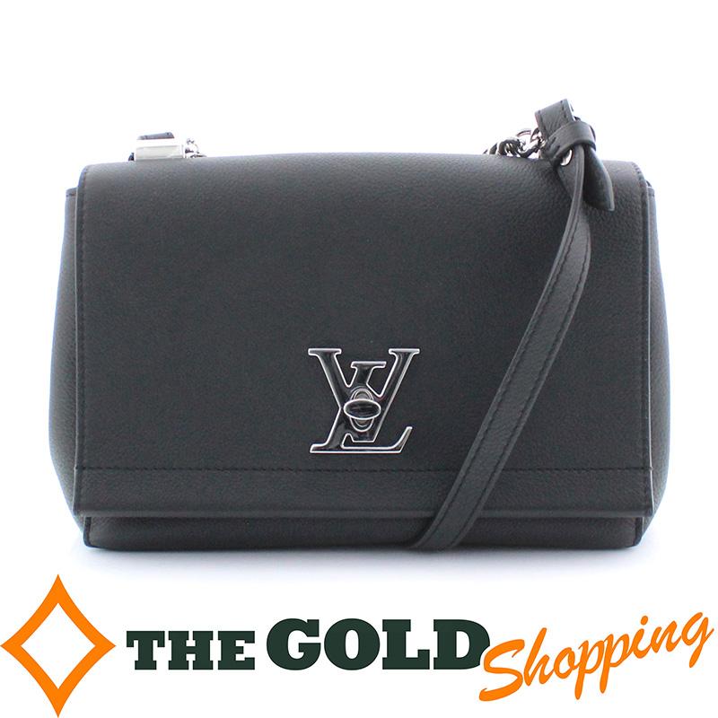 ルイヴィトン ロックミーII BB ノワール M51200 ブラック 黒 シルバー金具 LVロゴ ツイストロックバッグ ショルダーバッグLOUIS VUITTON ギフト プレゼント ビジネス ご褒美 ザ・ゴールドiuOkTPZX