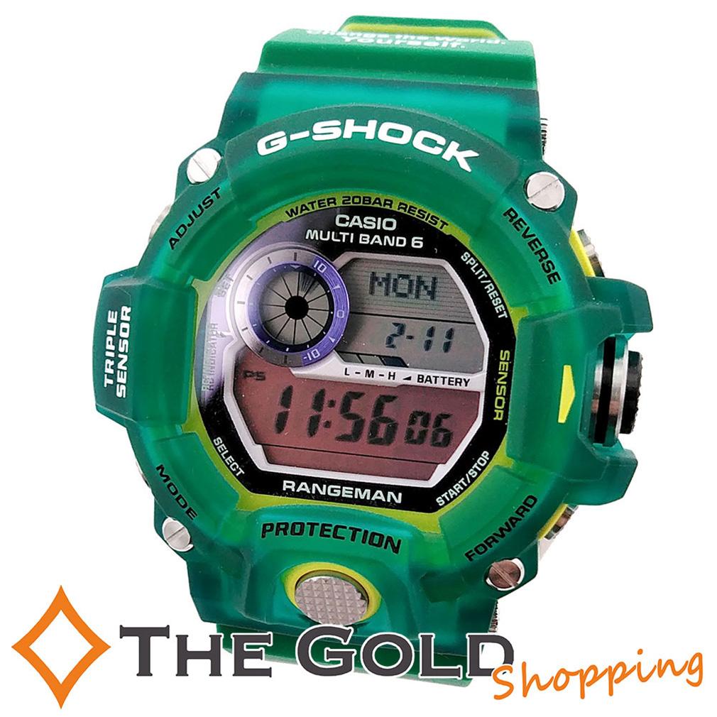 未使用 CASIO Gショック レンジマン アースウォッチ グリーン 緑 G-SHOCK GW-9401KJ-3JR カシオ 時計 腕時計 メンズ[男性用]【新古品】