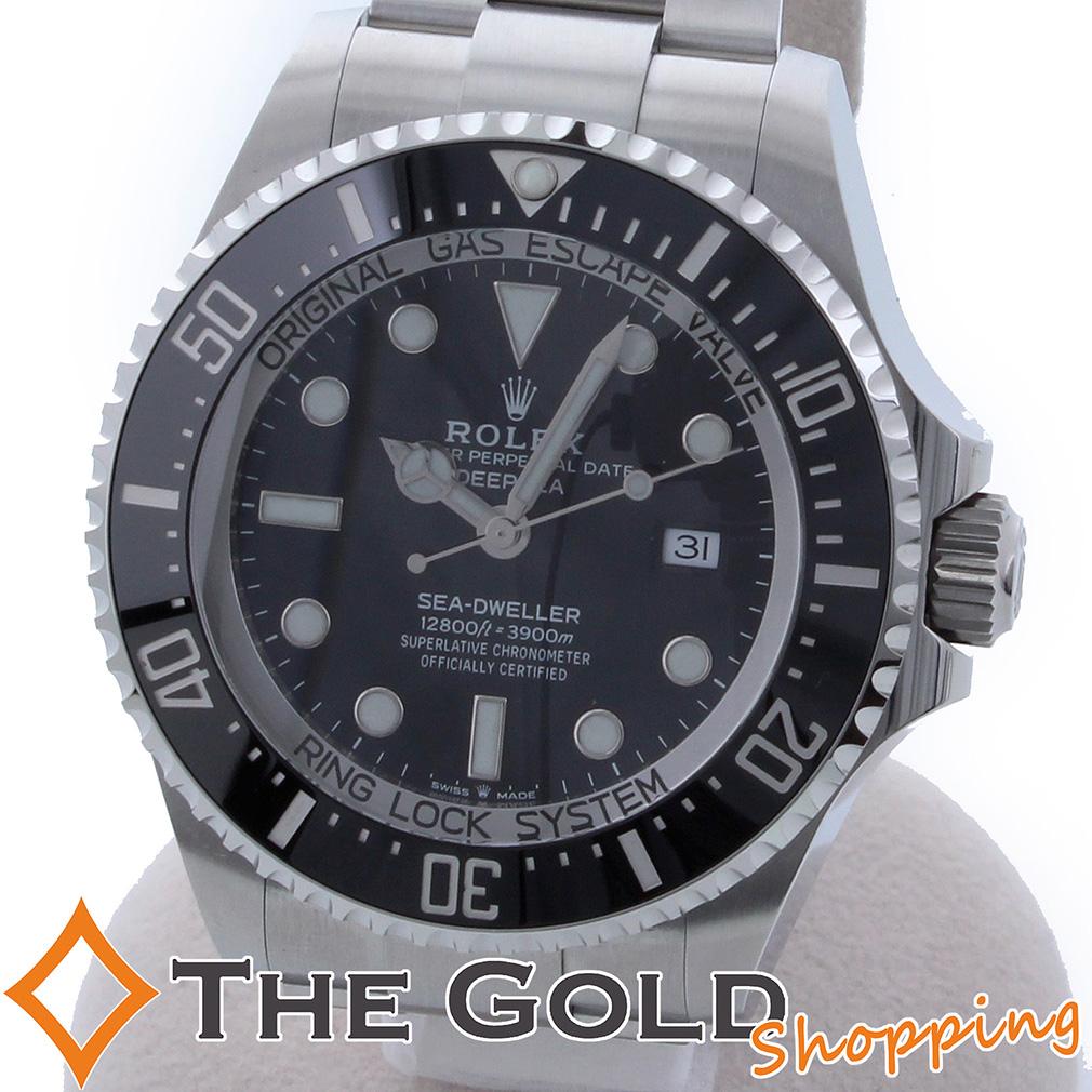 ROLEX シードゥエラー ディープシー ランダム 126660 ロレックス 時計 腕時計 メンズ[男性用] 中古 【中古 ユーズド】ご褒美 ギフト プレゼント ビジネス