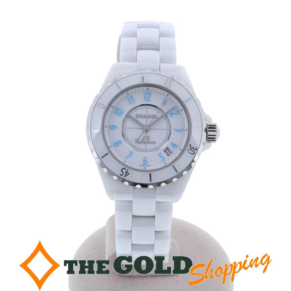 【正規取扱店】 【】シャネル CHANEL J12 ブルーライト 2000本限定 38mm H3827 腕時計 [メンズ 男性用] ギフト プレゼント ビジネス ご褒美 ザ・ゴールド, 光洋電機 2818cd69