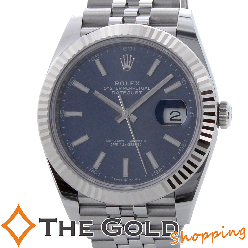 ROLEX デイトジャスト41 国内正規 2019年2月 126334 ロレックス 時計 腕時計 メンズ[男性用] 【中古】