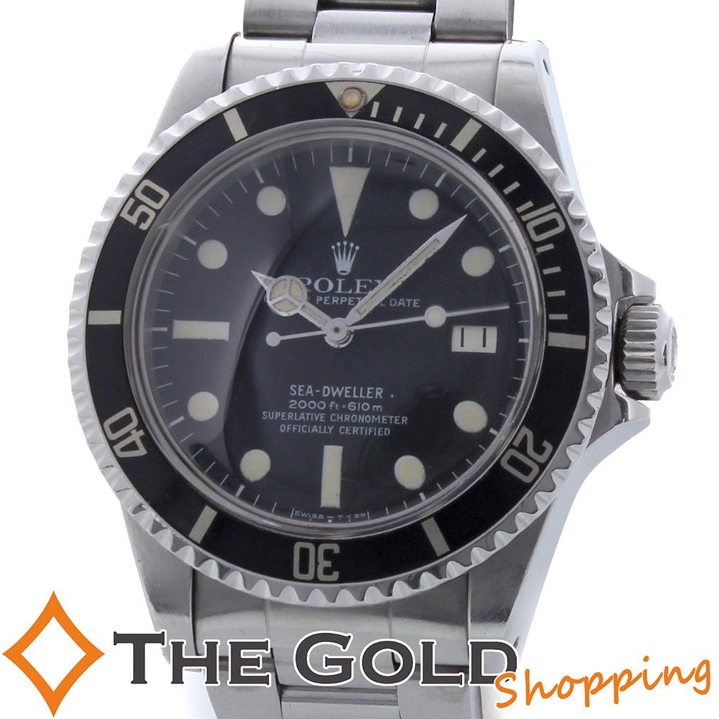 ロレックス / ROLEX : シードゥエラー 65番 並行 1981年9月 アンティーク 1665 時計 腕時計 メンズ[男性用] 【中古】