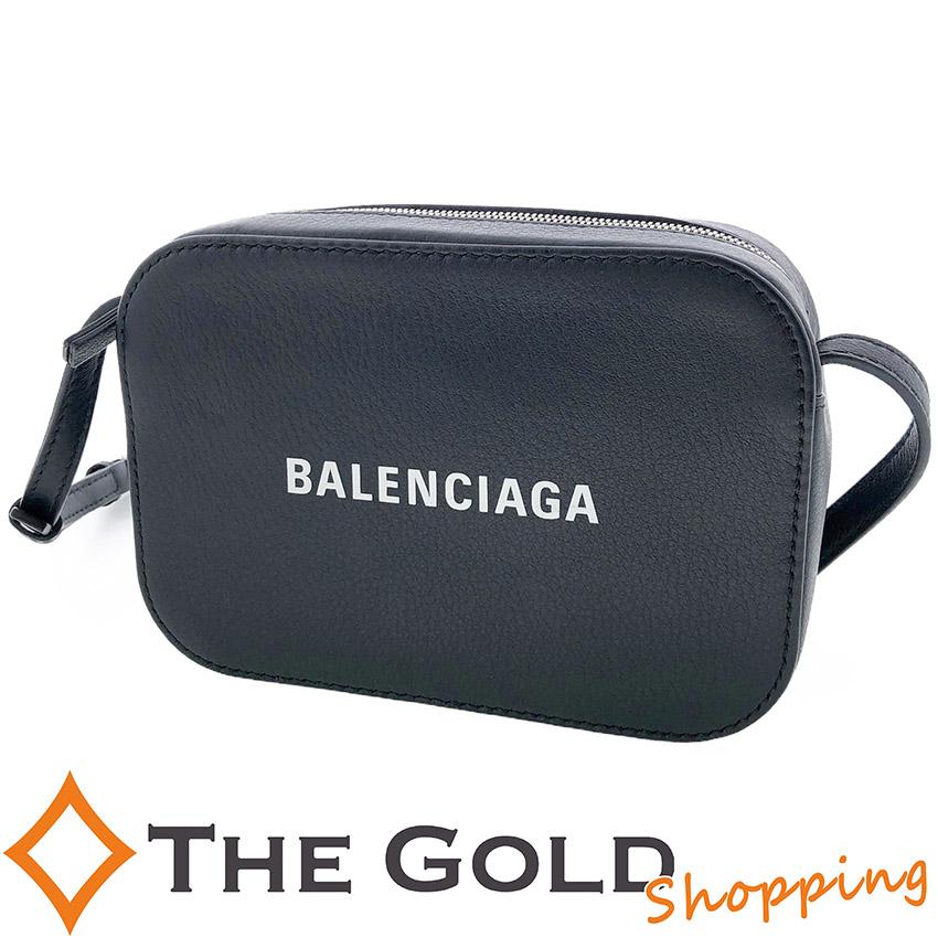 バレンシアガ / Balenciaga : カメラバッグXS ミニショルダー 斜め掛け 黒 ブラック 552372 バッグ ショルダーバッグ 【中古 ユーズド】