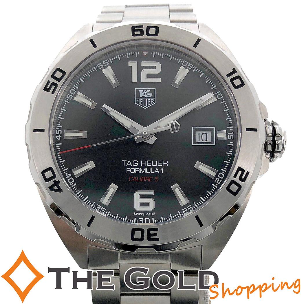 【中古】タグホイヤー TAG Heuer フォーミュラ1 キャリバー5 WAZ2113 並行 自動巻き 時計 腕時計 メンズ[男性用]
