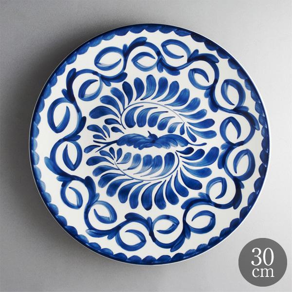 ANFORA Puebra 磁皿 器 トラスト メーカー在庫限り品 アンフォラ メキシコ 皿 うつわ 洋食皿 食皿 プエブラ30cmディナープレート コスタノバ サタルニア 50%OFF スーパーSALE