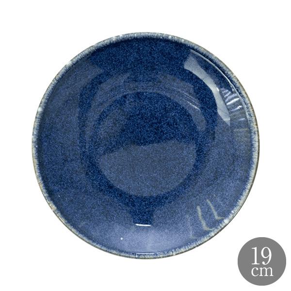 ANFORA Cabo [並行輸入品] 磁皿 器 アンフォラ メキシコ 皿 うつわ サタルニア 洋食皿 ブルー 食皿 19cm 正規取扱店 カボ コスタノバ クーププレート