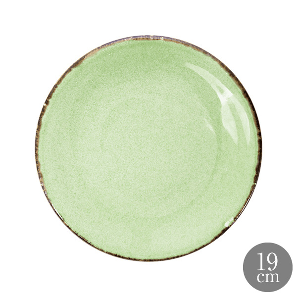 ANFORA Cabo 磁皿 器 アンフォラ メキシコ 皿 うつわ 食皿 サタルニア カボ 安心と信頼 セール コスタノバ 19cm クーププレート グリーン 洋食皿