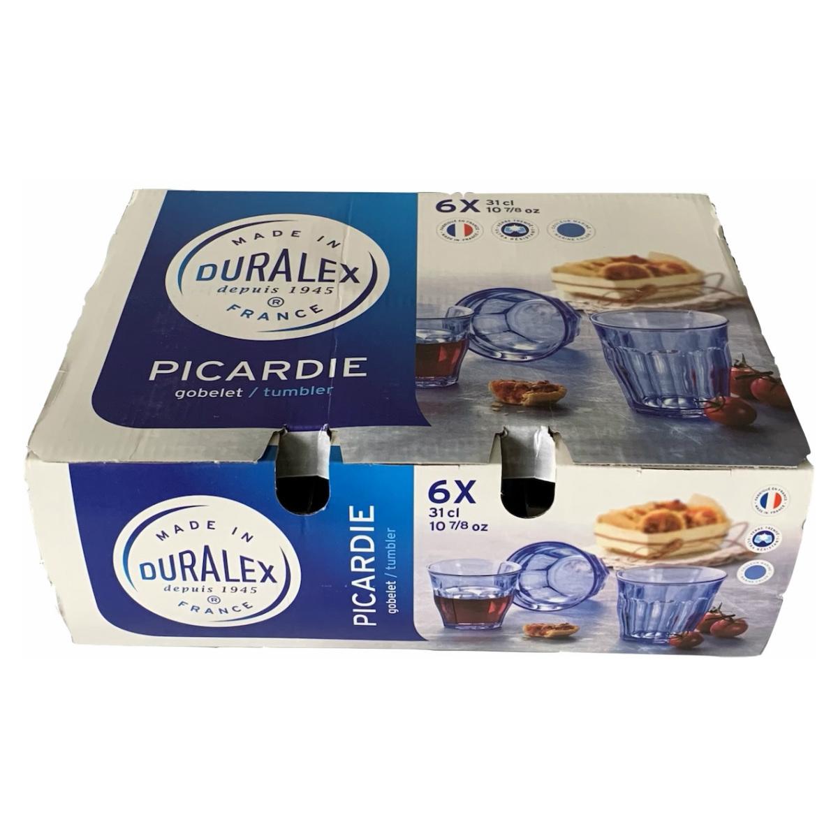食器 恵比寿に実店舗あります SALE 超美品再入荷品質至上 30%OFF DURALEX マリン250ml 箱入り 6個セット ピカルディー 最新アイテム デュラレックス
