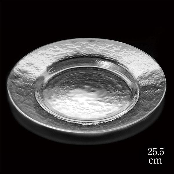 食器 皿 器 新入荷 流行 鉢 低廉 深皿 ガラス 透明 恵比寿に実店舗あります 帽子型 10インチ クリア 木村硝子店 ヒップ リムプレート