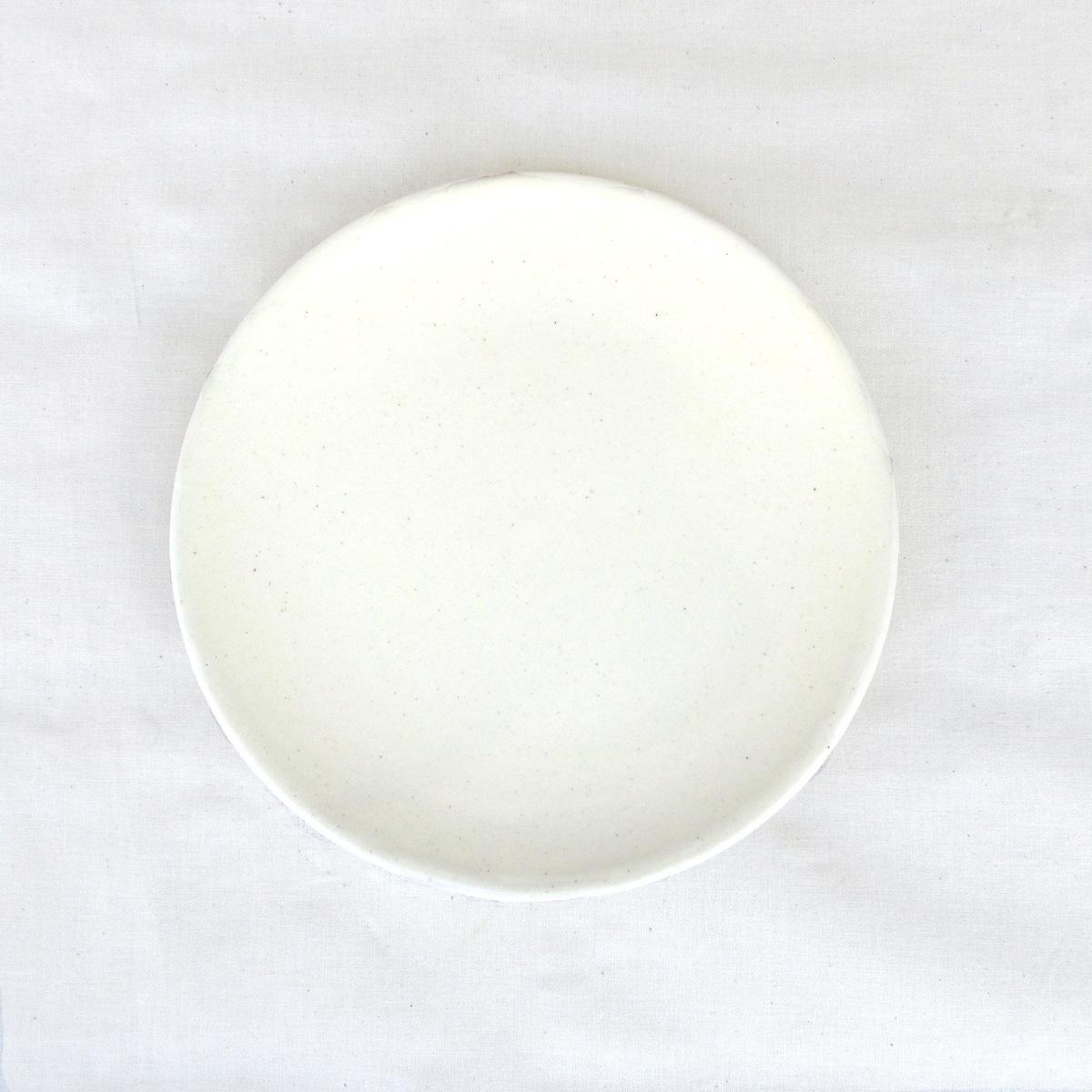 オリジナル 中皿 低廉 陶器 和食器 恵比寿に実店舗あります スカーレット 信楽焼 shiro 皿 18cm 日本製 プレート HARVEST