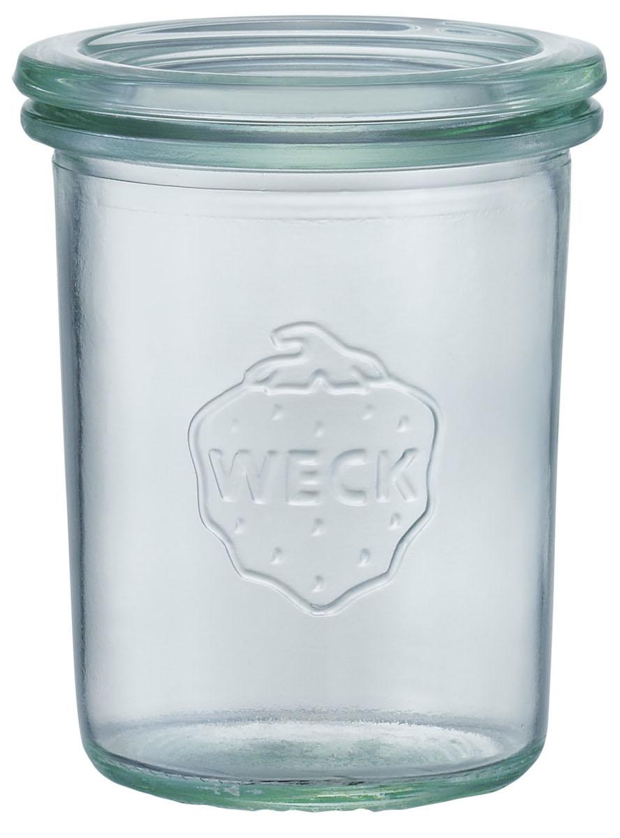 WECK ウェック サービス モールドシェープ 145ml ガラス 保存ビン 瓶 未使用 キッチン ドイツ キャニスター