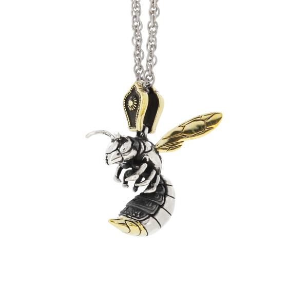 臨戦鎧毒虫根付-蜂