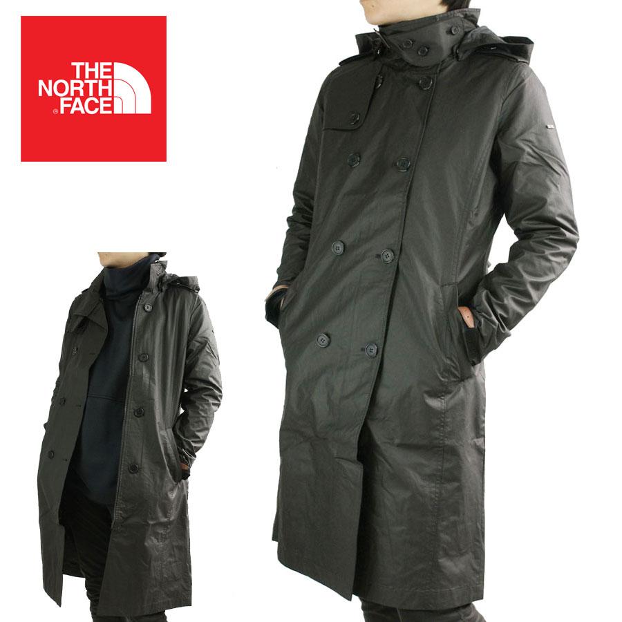 ノースフェイスTHE NORTH FACE レディース コートWHITELABEL W'S GLENLONG TRENCH COATグレンロングトレンチコートBLACK(ブラック)ジャケット トレンチ 黒