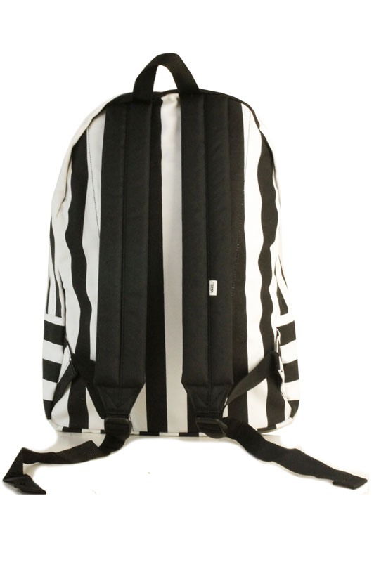 ccf5969ebb3656 vans black and white striped backpack   OFF78% Discounts
