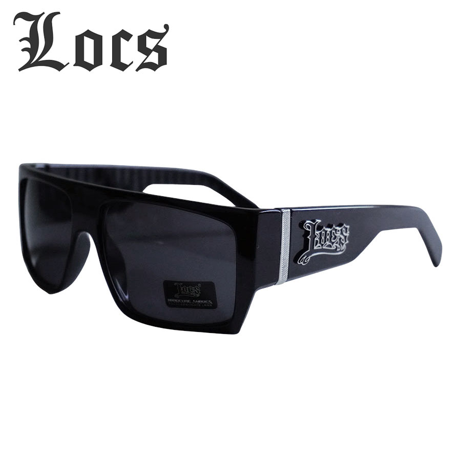 アメリカより直輸入 アーティストも愛用のサングラスLOCS メンズ サングラスLOCS ローク メーカー公式 ロックス8LOC91010-BKBLACK 超激安 ブラック 黒 ANGELES LOS チカーナ 西海岸 LA チカーノ WESTSIDE