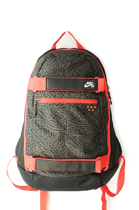 NIKE SB Nike SB EMBARCA BACK PACK embark backpack BLACK×RED (black x red)  backpack Skate men and women, for black and Red