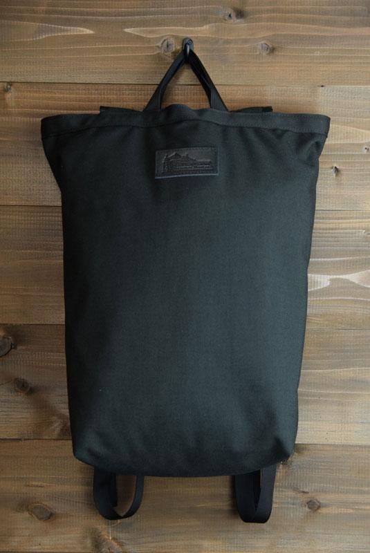 MYSTERY RANCHxKLETTERWORKSミステリーランチxクレッターワークス15KLETTERWORKS TOTE トートBLACK/BLACK(ブラック)男女兼用 トートバッグ アウトドア 大容量 黒