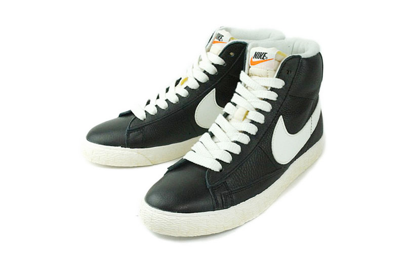 nike blazers mid black suede womens shoes