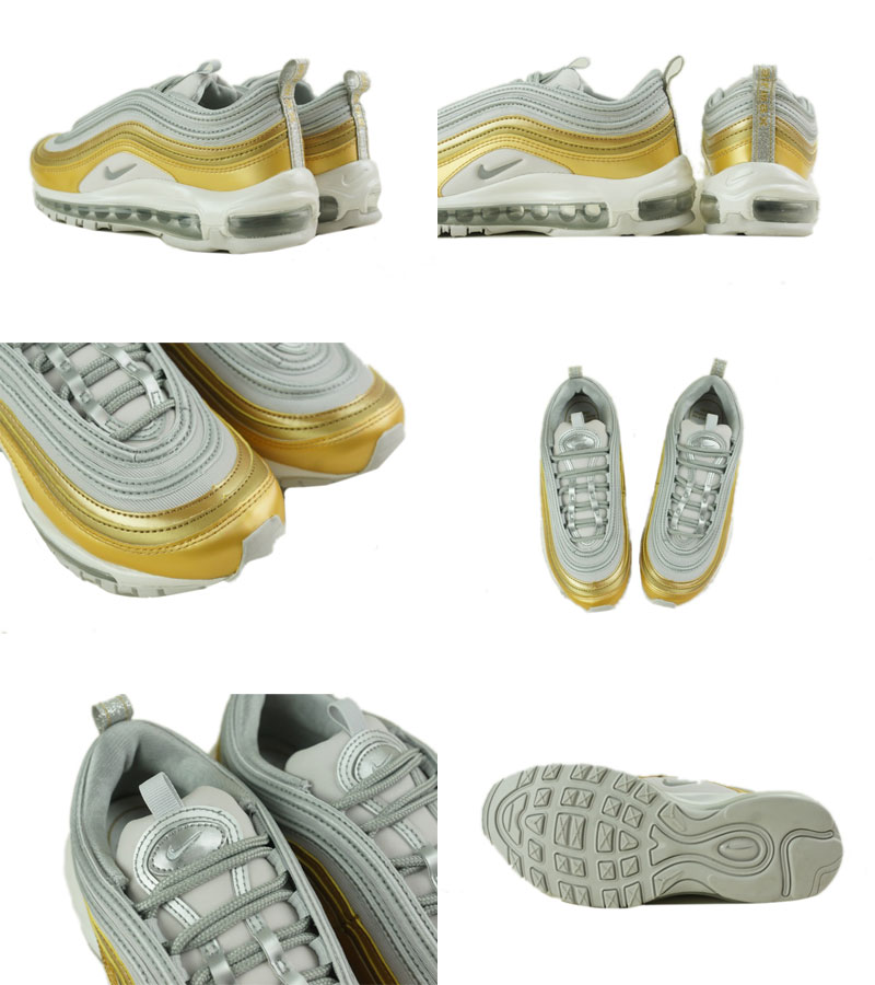 Nike Air Max 97 SE W shoes grey gold