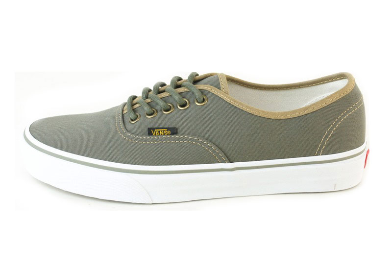 VANS vans vans AUTHENTIC SURPLUS authentic surplus BTTRNT/OLVNIGHT ( butternut / olive night) men's shoes sneaker shoes