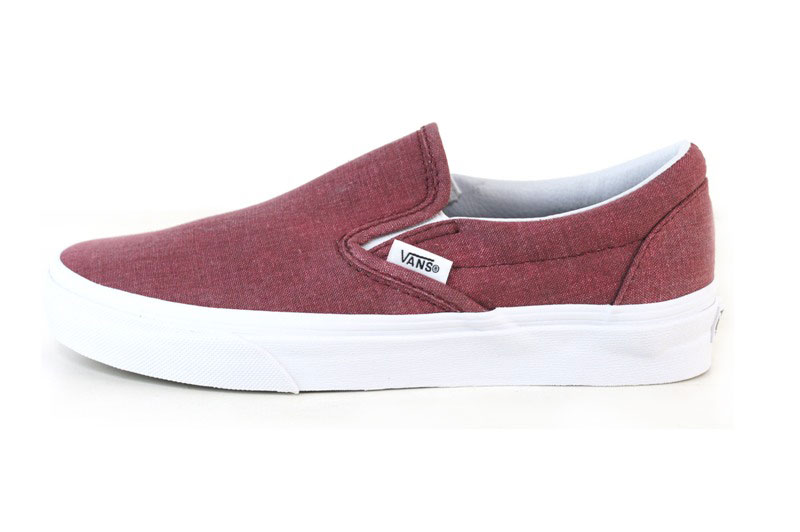 vans unisex classic slip-on canvas sneakers