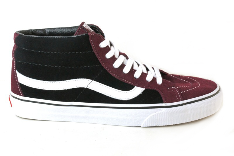 f5f1c42f281d ... vans vans vans sk8 mid reissue skate mid reissue suede royal black port  port royal black