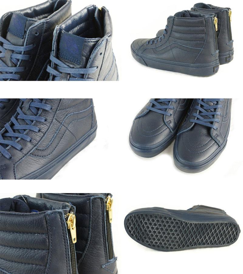Furgonetas - California Sk8-hi Arranque Postal Zapatos De Cuero De Vestir - Azules PvMwOS