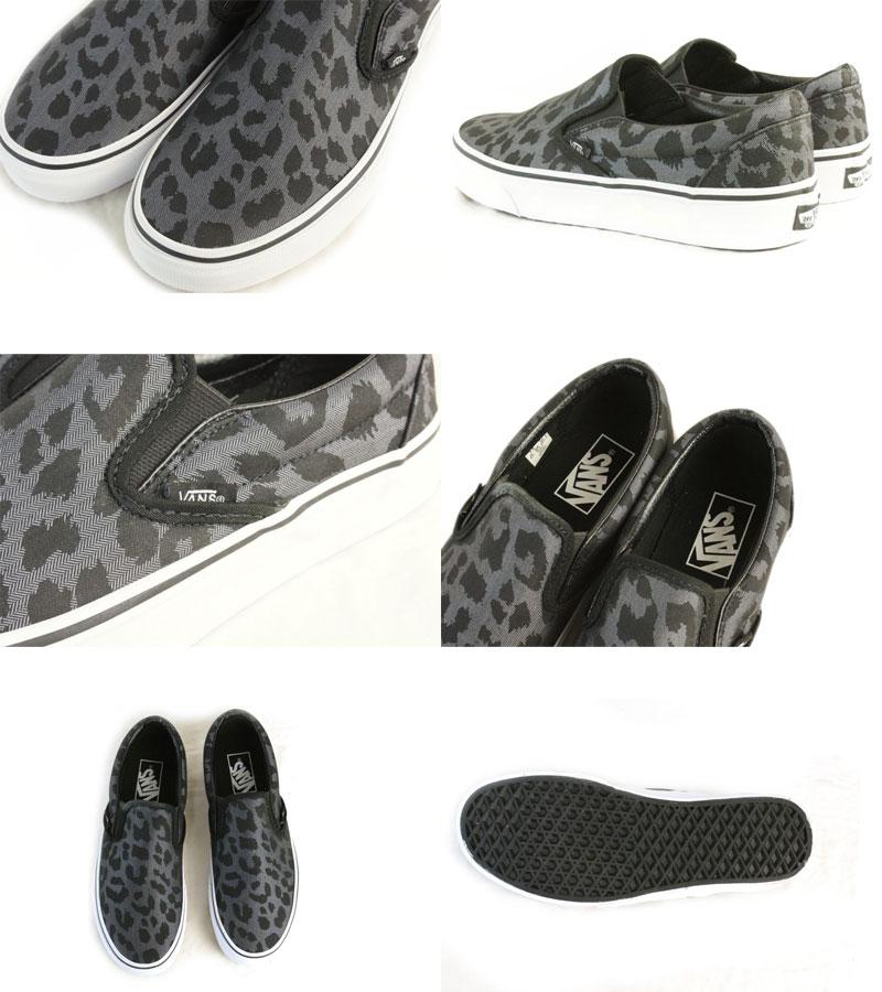 Vans Slip Classique Sur Les Chaussures Léopard Herringbone SydJOdapp