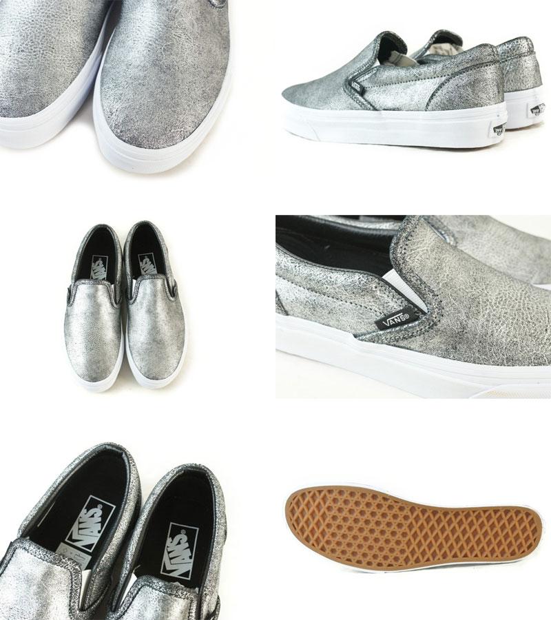 Furgoni Metallico Slip-on Sneaker Delle Donne HokkKx