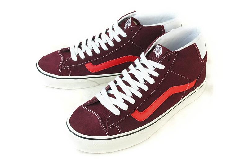 VANS vans vans MID SKOOL 77 mid school 77 (EARTH TONE SUEDE) PORT ROYAL  (earth-tone suede Port Royal) men's shoes shoes Middle leather wine red