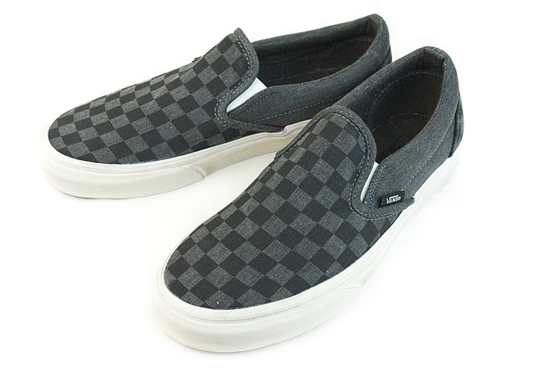 classic checkered vans womens