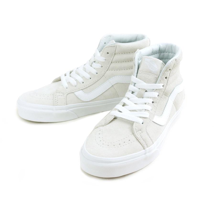バンズ VANS ヴァンズレディース スニーカーSK8-HI REISSUEスケートハイ レイシュー(PIG SUEDE)MOONBEAM/TRUE(ピッグスエード/ムーンビーントゥルーホワイト)靴 スニーカー ハイカット スケート オフホワイト 白