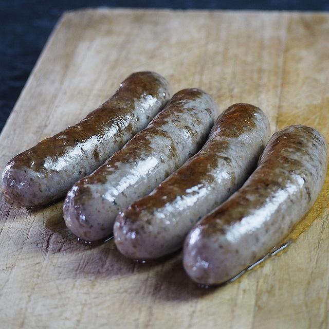 how to cook deer meat sausage