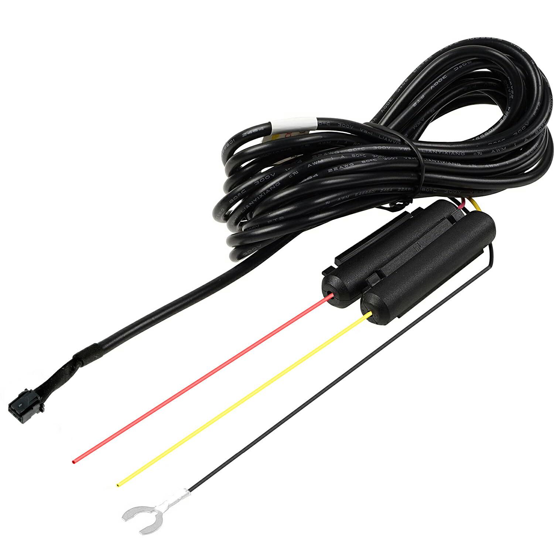 駐車監視ケーブル hdrop-14 直接配線コード 駐車監視 ドライブレコーダー用オプション 長さ4m 24V対応 代用品 新入荷 流行 12V 高級品