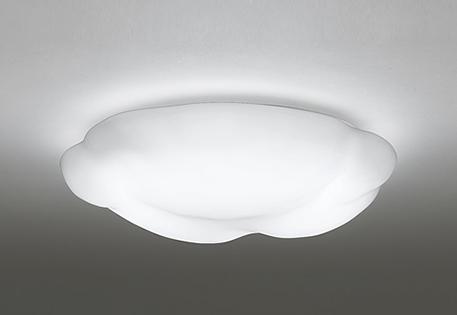 一部地域除き送料無料【ODELIC オーデリック】シーリングライト『OL251251』LED 照明 シーリングライト 雲 天井 居間 リビング 6畳 洋風 白 サンドブラスト リモコン付 調光 調色