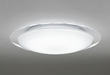 ☆【ODELIC オーデリック】【 OL251708 】LED 照明 シーリングライト おしゃれ かわいい 人気 天井 居間 リビング インテリア 8畳 洋風 リモコン付 調光 アクリル 乳白 カット模様 透明 タイマー