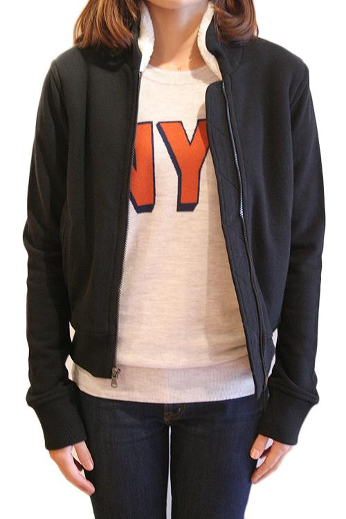 【正規取扱店】JAMES PERSE WTC2882 レディースボアジャケット BLACK(ブラック) (ジェームスパース)