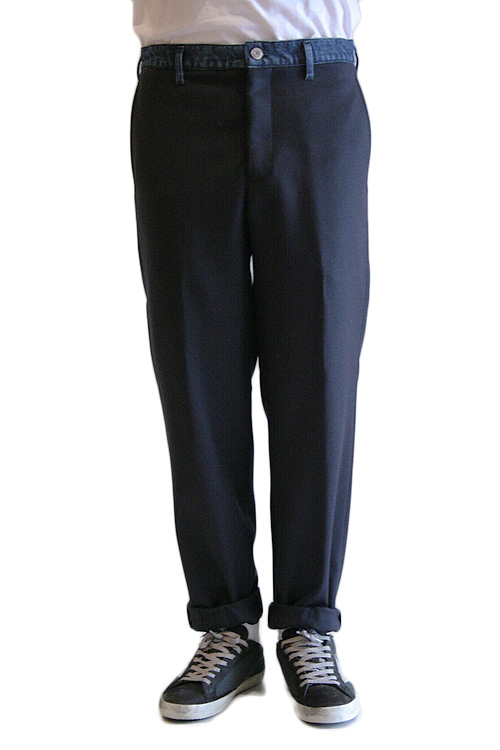 【正規取扱店】GOLDEN GOOSE DELUXE BRAND 14-15A/W PANT SCOTTIEパントスコッティー NAVY/BLUE(ネイビーブルー) (ゴールデングースデラックスブランド)