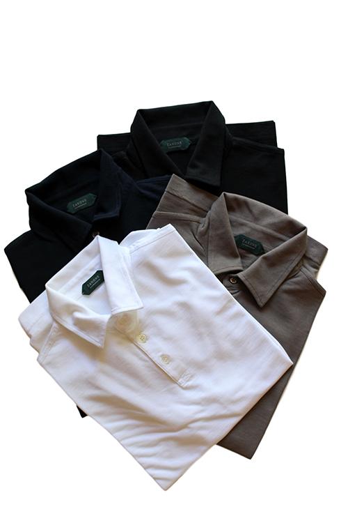 【正規取扱店】ZANONE アイスコットンポロシャツ 811818 Polo Shirt ice cotton (ザノーネ)