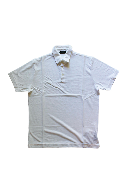 【正規取扱店】ZANONE アイスコットンポロシャツ 811818 Polo Shirt ice cotton Z0001 WHITE (ザノーネ)